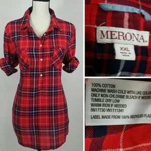 Merona button down shirt